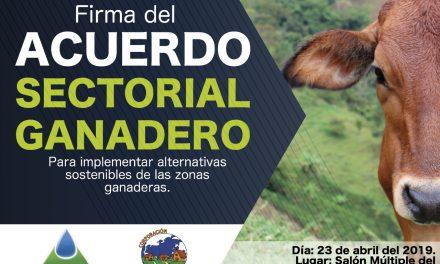 Corpocaldas firmará Acuerdo de Voluntades con el sector ganadero para la protección de la Cuenca Alta del río Chinchiná