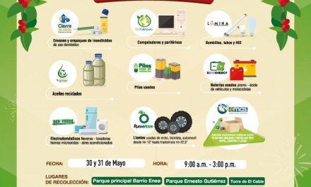 6a JORNADA DE RECOLECCIÓN  DE RESIDUOS POSCONSUMO