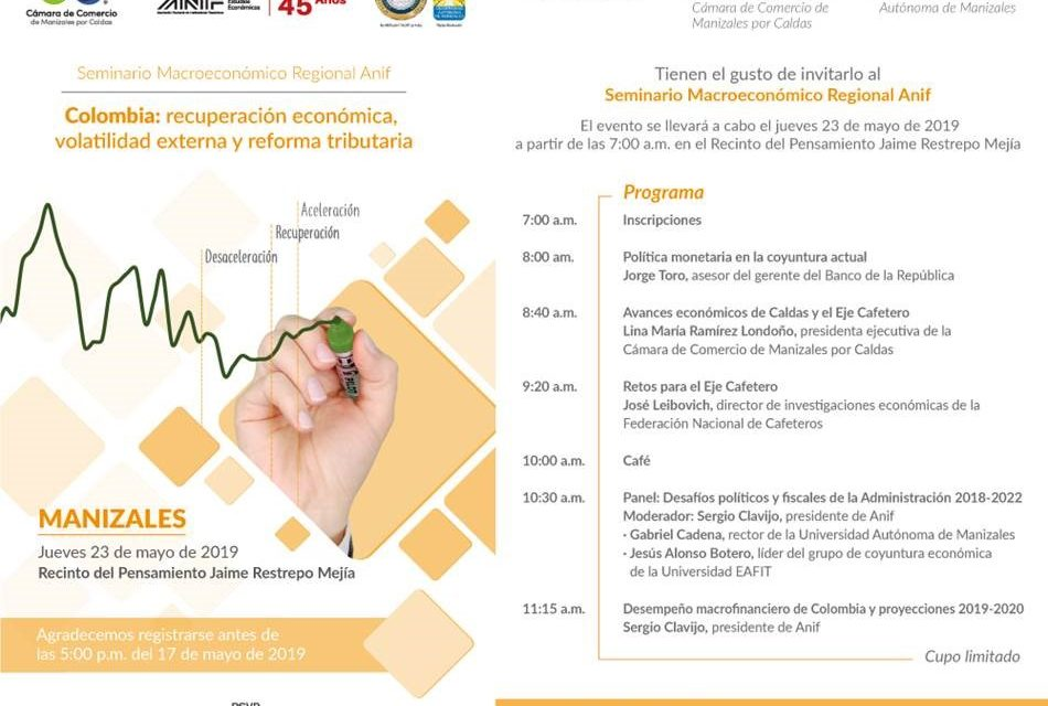 Invitación periodistas: Seminario Macroeconómico Regional Anif