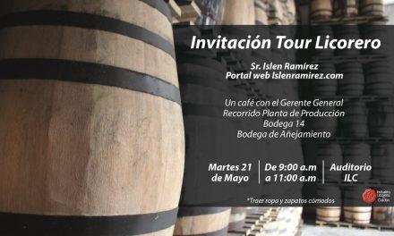 INVITACIÓN TOUR LICORERO
