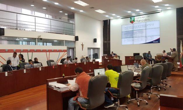 Concejales de Manizales realizaron debate de control político a los convenios entre la Administración Municipal y la firma INFOTIC