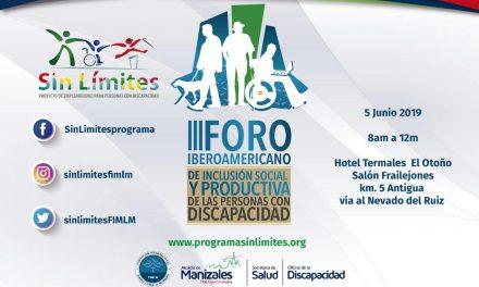 Tercer Foro Iberoanmericano de Inclusión Social y Productiva de las personas con discapacidad
