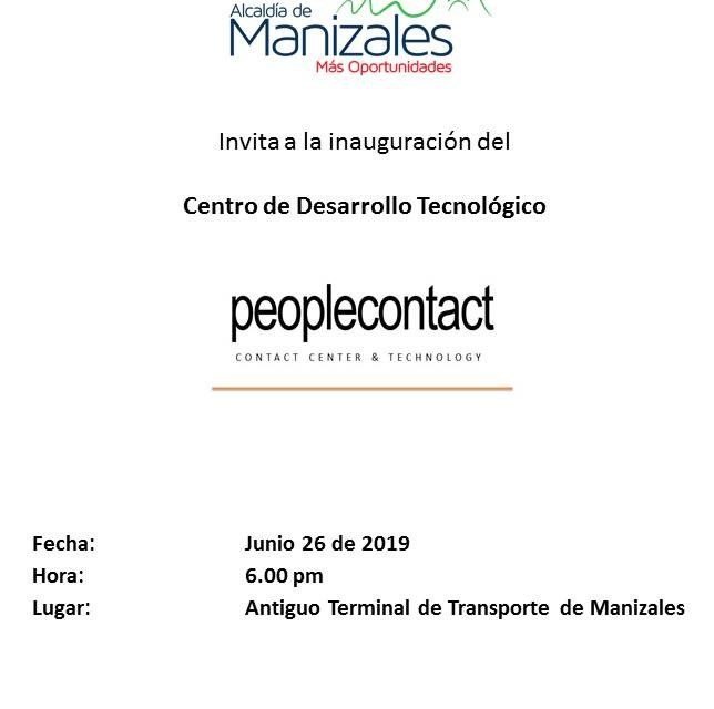 INAUGURACION DE PEOPLE CONTACT