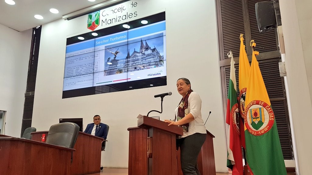 La Secretaría de TIC y Competitividad presentó sus gestiones en el Concejales de Manizales