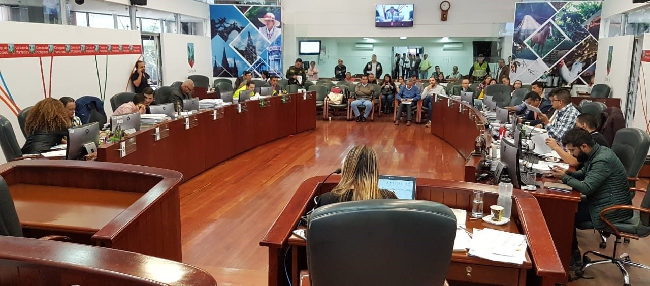 Programación para el martes, 25 de junio de 2019 en el Concejo de Manizales