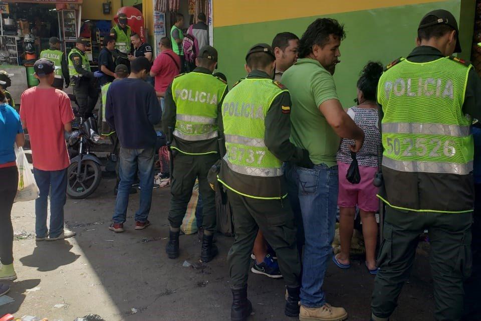 Balance operativo del fin de semana en Manizales