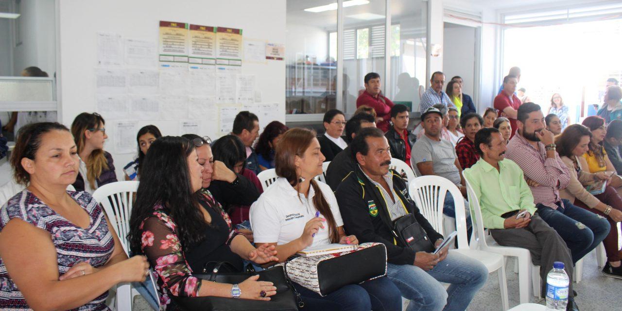 Líderes y habitantes del Corregimiento el Manantial, socializaron con los Corporados el estado actual de las 12 veredas que lo integran
