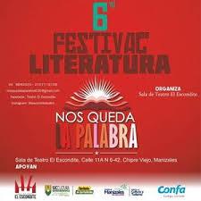 6° FESTIVAL DE LITERATURA:NOS QUEDA LA PALABRA  PARTICIPANTES 2019  JUAN CARLOS ACEVEDO RAMOS (Manizales) / Poeta