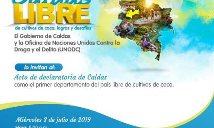 CALDAS LIBRE DE COCA