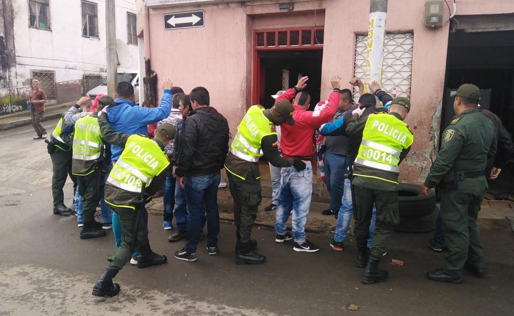 Balance Operativo De Seguridad En Manizales Y Villamaria Durante El Fin De Semana.