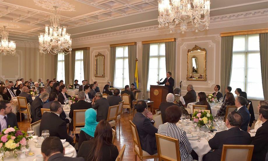 Presidente Duque invita a las iglesias a que sean aliadas en la defensa de la familia, como núcleo de la sociedad, y a luchar contra el consumo de estupefacientes