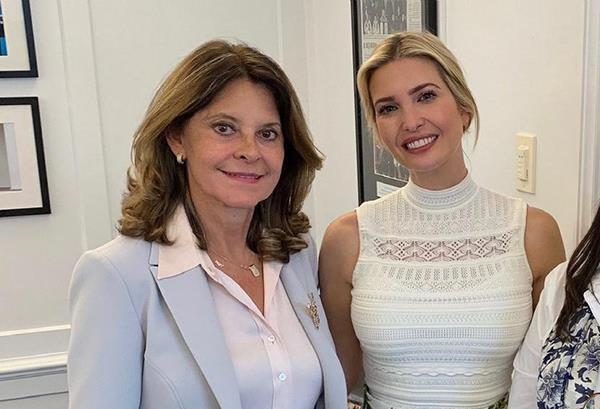 Ivanka Trump estará en Colombia