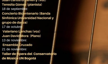 XIV Temporada Internacional Música de Cámara 2019