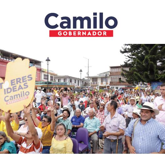 Camilo Gaviria firmó el Pacto por la Reconciliación con las Víctimas del Conflicto