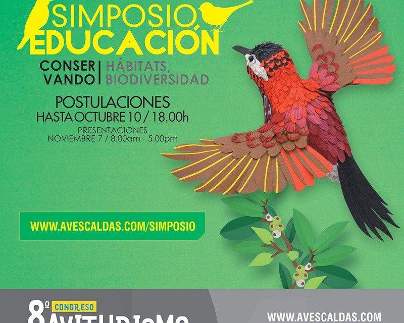 Postula tu proyecto de conservación de las aves en el Simposio de Educación
