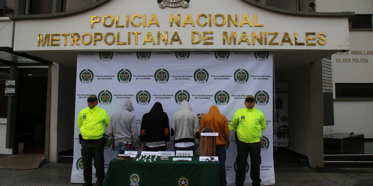 """EN EL SECTOR LAS """"AGUILAS"""" Y EL BARRIO EL NEVADO SE EJECUTÓ LA OPERACIÓN HALCÓN II"""