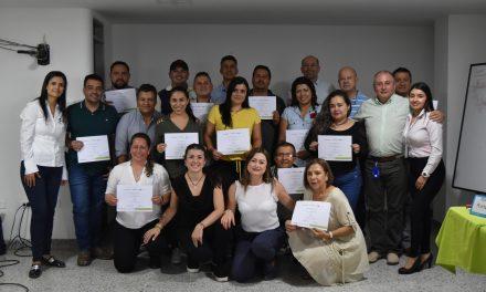 12 empresarios de Anserma, Viterbo y San José participaron en el programa Vender Más