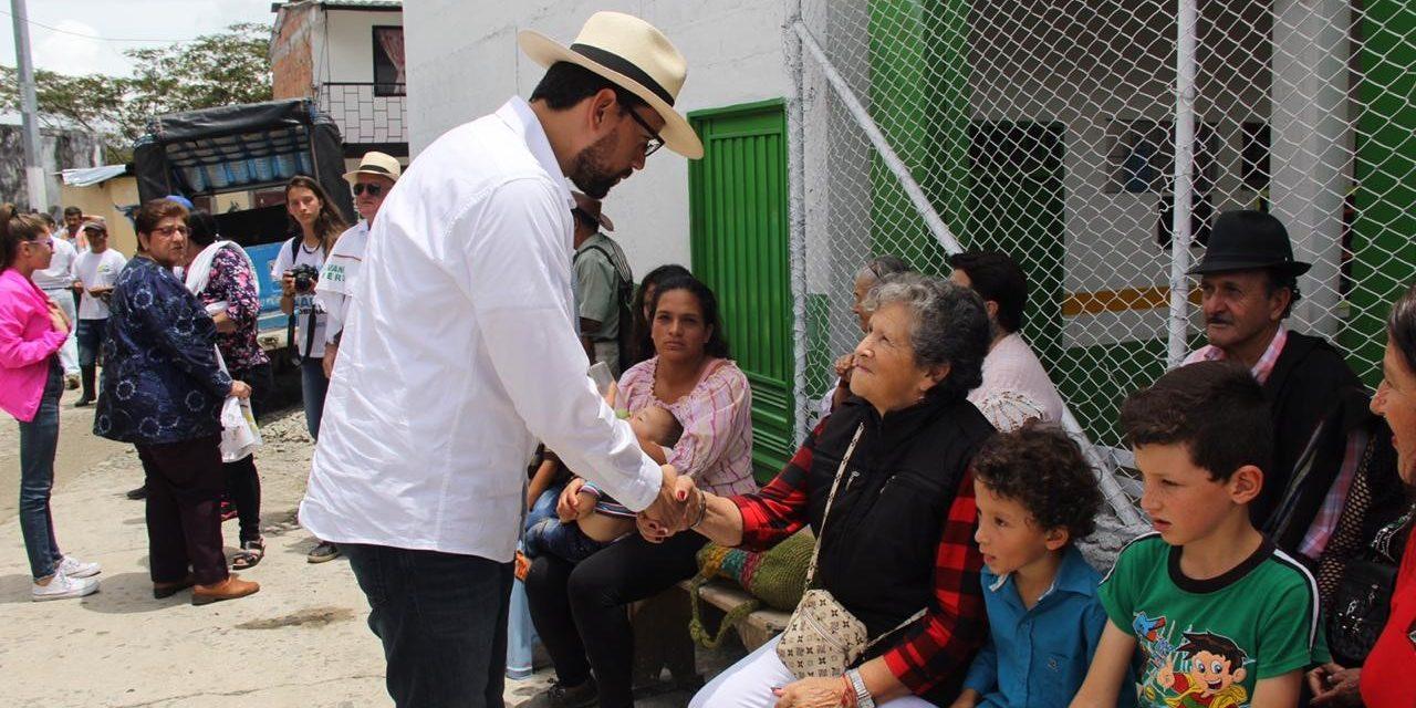 Boletín de prensa 37 Luis Carlos Gobernador