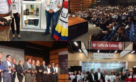 POR APORTAR AL MEJORAMIENTO DE LAS CONDICIONES DE VIDA DE LA ZONA RURAL Y AL PROGRESO DEL CAMPO, LA FEDERACIÓN NACIONAL DE CAFETEROS OTORGÓ RECONOCIMIENTO AL GOBERNADOR DE CALDAS DURANTE LA XII EDICIÓN DE CAFÉS DE COLOMBIA EXPO 2019