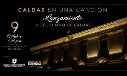 88 ARTISTAS DE TODOS LOS MUNICIPIOS LOGRARON UNA NUEVA VERSIÓN DEL HIMNO DE CALDAS. EL 9 DE OCTUBRE SONARÁ EN TODO EL DEPARTAMENTO