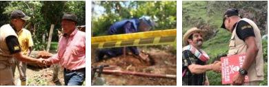Ejército entrega a los caldenses 4 municipios libres de contaminación por minas antipersonal