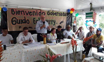 CALDAS SE CONVIERTE EN MODELO DE CONCILIACIÓN CON LAS COMUNIDADES. EN LA TERCERA MESA DEPARTAMENTAL DE CONCERTACIÓN INDÍGENA, EL GOBIERNO DE CALDAS HIZO ENTREGA OFICIAL DE LA ORDENANZA 856 DE 2019 QUE DECLARA PERMANENTE ESTE ESPACIO DE DIÁLOGO