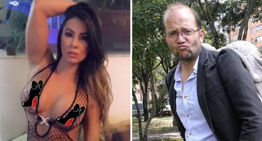 ¡Ojo, calvos! Daniel Samper está buscando doble para video erótico con Esperanza Gómez
