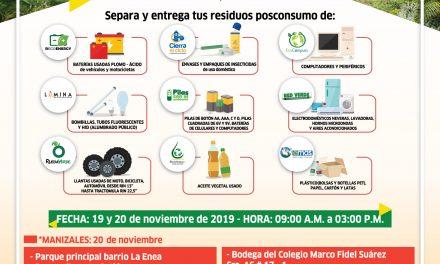 7.ª Jornada de Recolección de Residuos Posconsumo