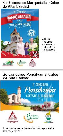 MARQUETALIA Y PENSILVANIA PREMIAN A SUS MEJORES CAFÉS