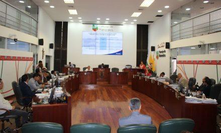 Concejo de Manizales clausuró su tercer periodo de sesione extraordinarias de 2019.