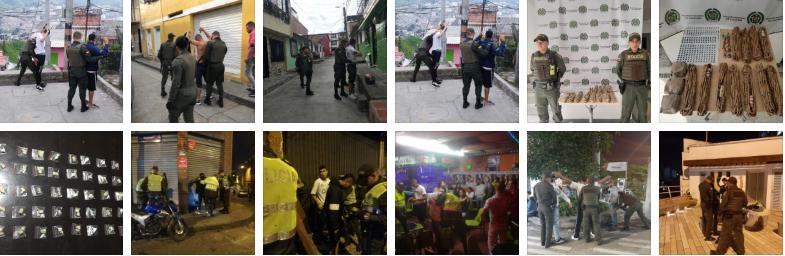 BALANCE OPERATIVO DE SEGURIDAD EN MANIZALES Y VILLAMARÍA