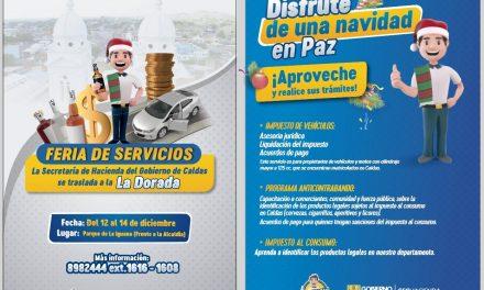 FERIA DE SERVICIOS  EN LA DORADA