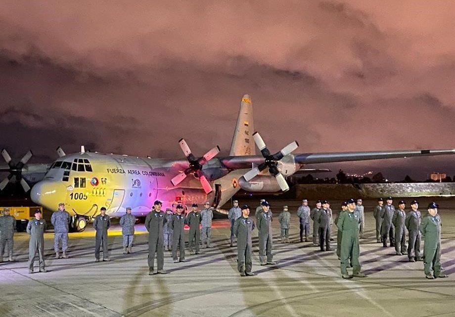 Este viernes, la Fuerza Aérea Colombiana comienza la VI Expedición Científica y IV Campaña Antártica