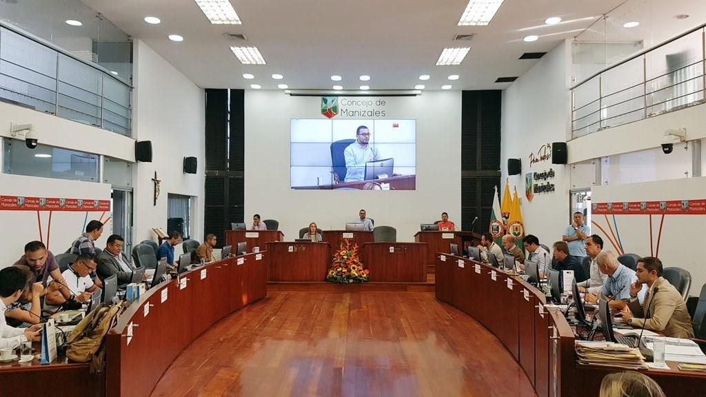 Concejales de Manizales conocieron las medidas de seguridad planeadas para la Feria de Manizales en su versión N° 64