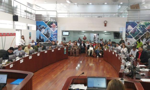 Continuación del informe del avance de la política pública de turismo de Manizales