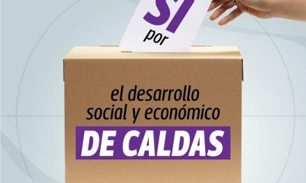 CONSULTA POPULAR DEL ÁREA METROPOLITANA CENTRO SUR DE CALDAS SERÁ EL PRÓXIMO 5 DE JULIO. EL GOBIERNO DE CALDAS ESPERA LA INTEGRACIÓN DE LOS CINCO MUNICIPIOS PARA GENERAR DESARROLLO ECONÓMICO Y SOCIAL EN EL DEPARTAMENTO