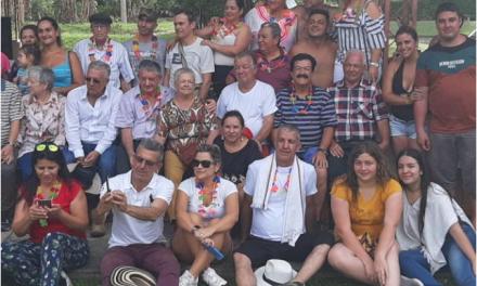 LA FAMILIA SE REUNE PARA CELEBRAR EL CUMPEAÑOS DE HECTOR RAMIREZ EN LA GRANJITA PALESTINA