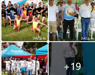 Fueron inaugurados los torneos sabatino y dominical de fútbol  de CONFA con la participación de 65 equipos de diferentes empresas del departamento de Caldas.