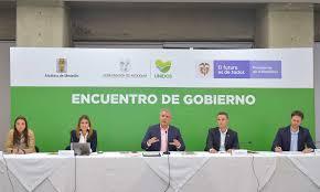 """Encuentro de Gabinetes """"marca un hito en la coordinación del Gobierno Nacional, con el departamental y el municipal"""", dijo el Presidente Duque al explicar la hoja de ruta para Antioquia y Medellín"""