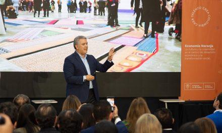 Presidente Duque reitera que en 'las próximas semanas vamos a extender los beneficios del cine a todo el sector audiovisual en Colombia'