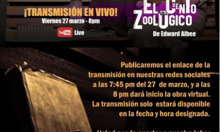 Transmisión en vivo Actores en Escena ¡26 Años de Puro Teatro!
