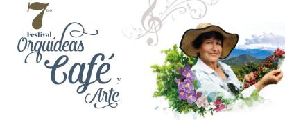 Del 13 al 15 de marzo, 7° Festival Orquídeas, Café y Arte en el Recinto del Pensamiento de Manizales