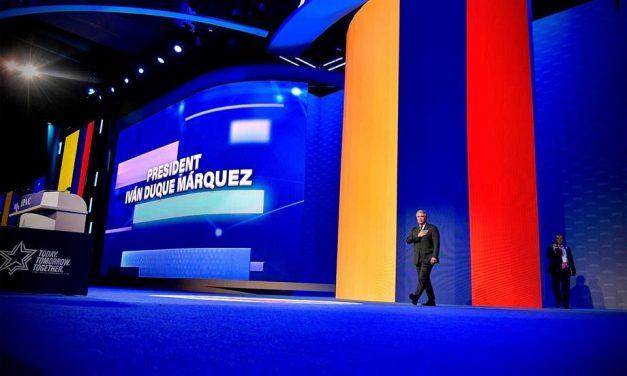 importante imponer sanciones más fuertes contra Venezuela. Este año tenemos que trabajar unidos para asegurar transición política y democrática: Presidente Duque