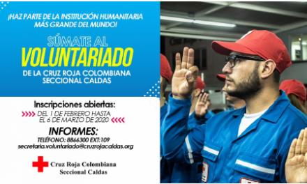 Siguen abiertas las inscripciones para el Voluntariado en la Cruz Roja