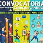 CONVOCATORIA DE APOYO A INICIATIVAS CULTURALES TIENE NUEVO PLAZO DE RECEPCIÓN DE PROPUESTAS