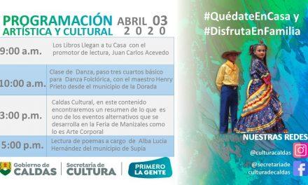 PROGRAMACION ARTISTICA Y CULTURAL DE CALDAS