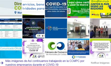 Así continuamos trabajando en la CCMPC por nuestros empresarios durante el COVID-19