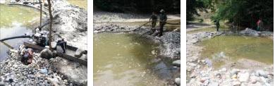Extracción minera ilícita de oro aluvial en Victoria generó impactos ambientales negativos