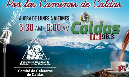 PROGRAMA DE RADIO «POR LOS CAMINOS DE CALDAS» COMPLETÓ 8.000 EMISIONES