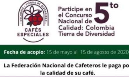 La Federación Nacional de Cafeteros busca los mejores cafés de la cosecha 2020